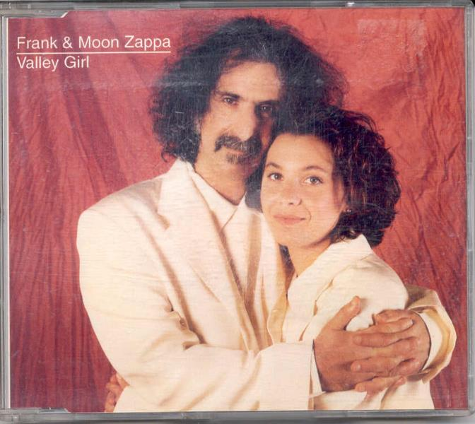 Zappa,Frank Valley Girl(Uk 1993 Ltd 2-Trk Cd Full Ps) CD:SINGLE