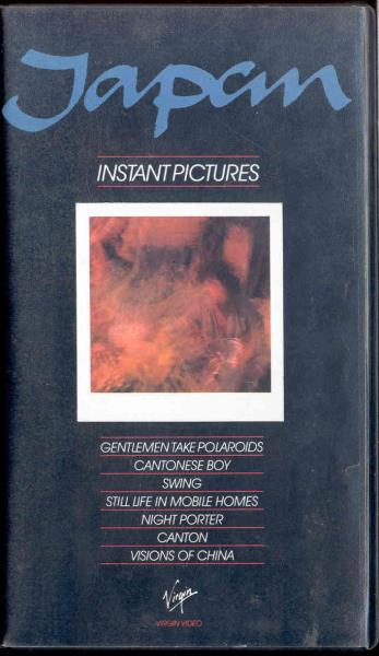 Japan Instanct Pictures(Uk 1984 Ltd 7-Trk Video Vhs Unique Ps) VIDEO:PAL(EUR)