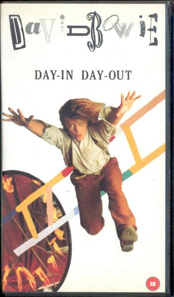 Bowie,David Day In Day Out Ep(Uk 1987 Ltd 3-Trk Video Vhs Ep Unique Ps) VIDEO:PAL(EUR)